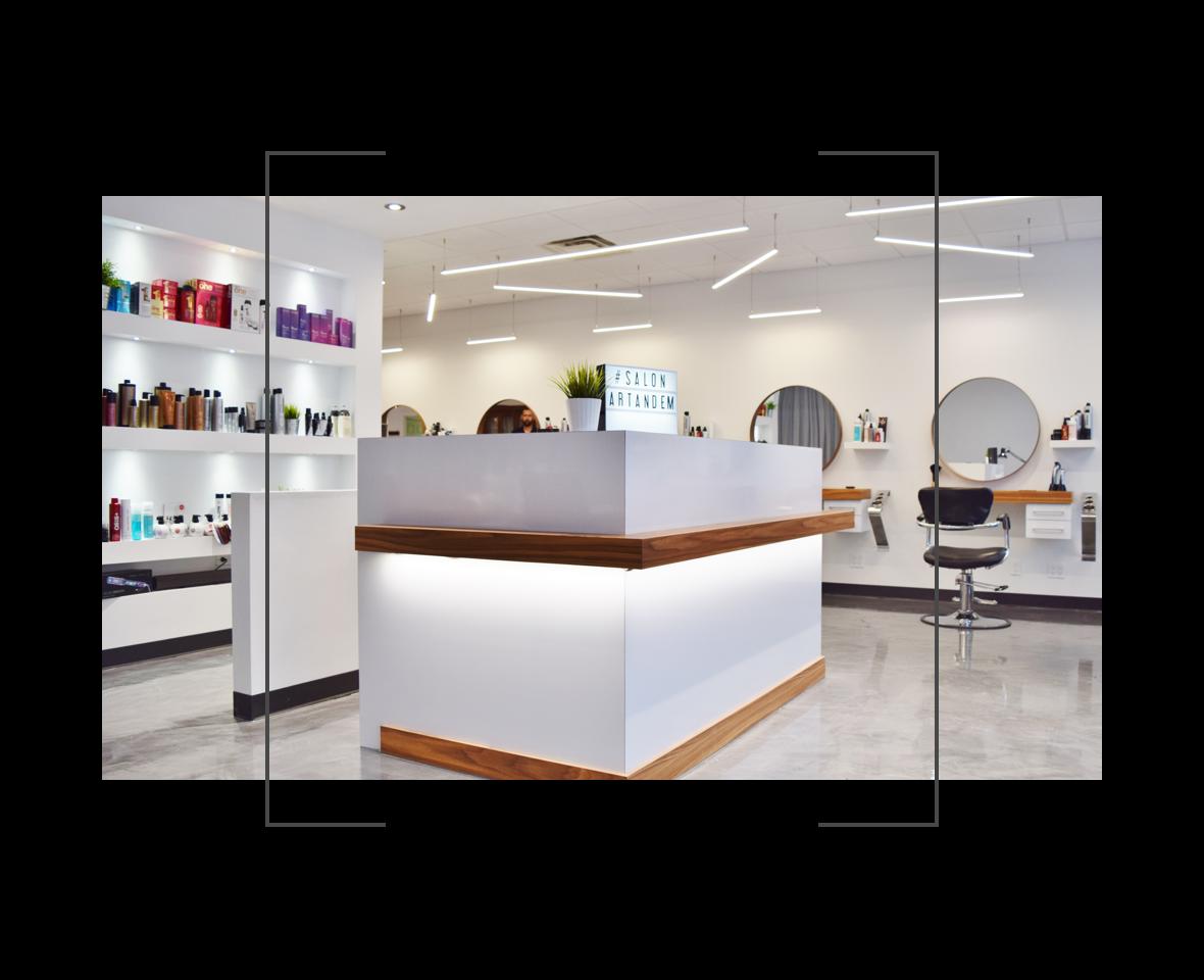 Salon Coiffure | Salon Esthétique | Salon ArTandem